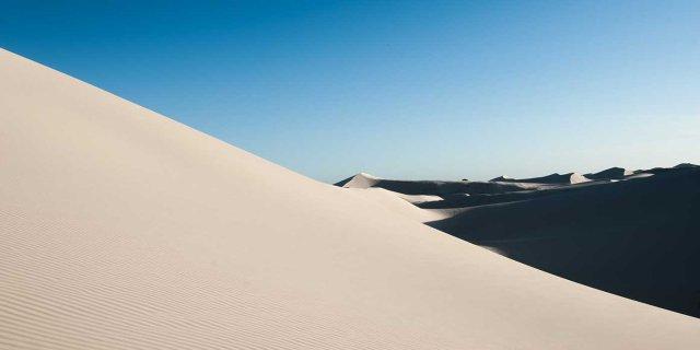 Sand dunes De Hoop Nature Reserve