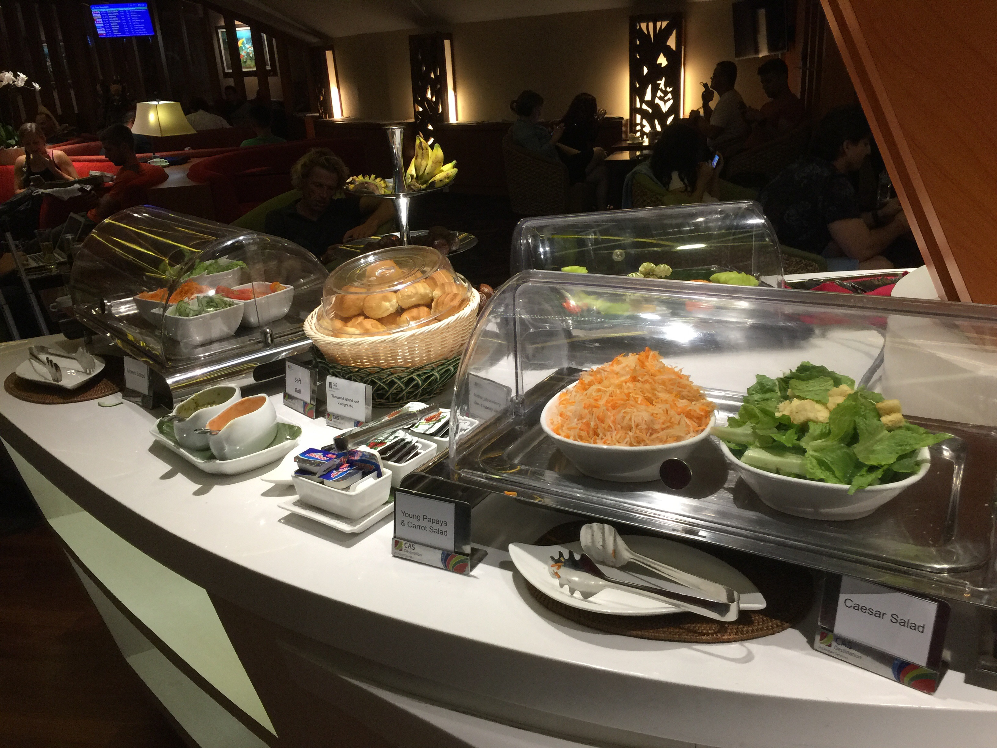 Lounge review denpasar premier lounge nathan 39 s insights for Premier cuisine