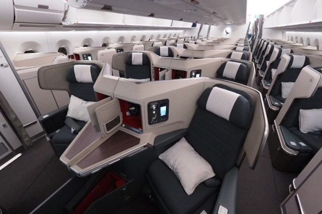 Cathay Pacific Business Class A350-900